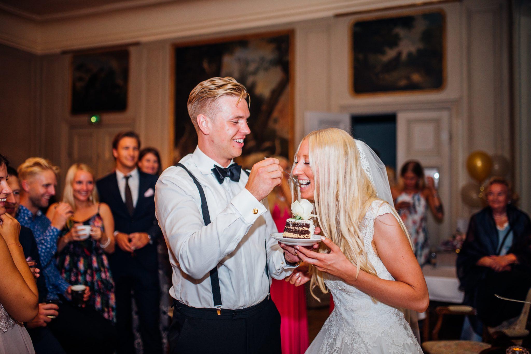 Sonny Emelie Åkeshofs Slott Bromma Stockholm Bröllopsfotograf Martina Lundborg Fotograf Bröllop