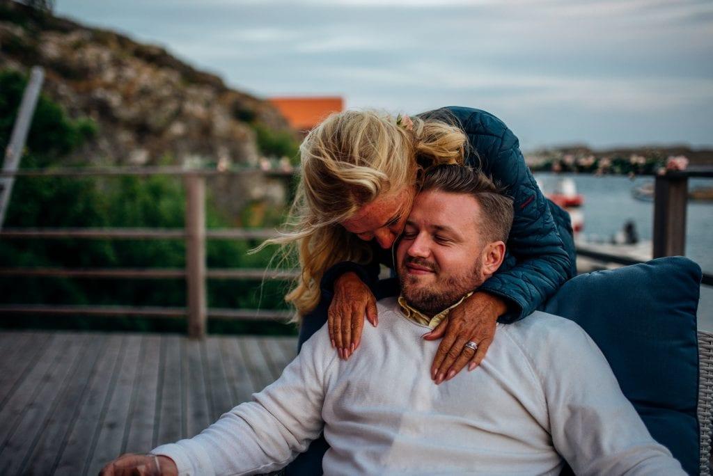 Lena Mats Utomhusvigsel Västkusten Mollösund Lars Wallin